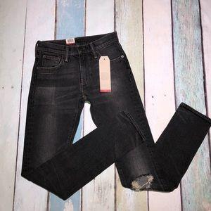 Levi's 505C Slim Straight Leg Zip Fly Jeans